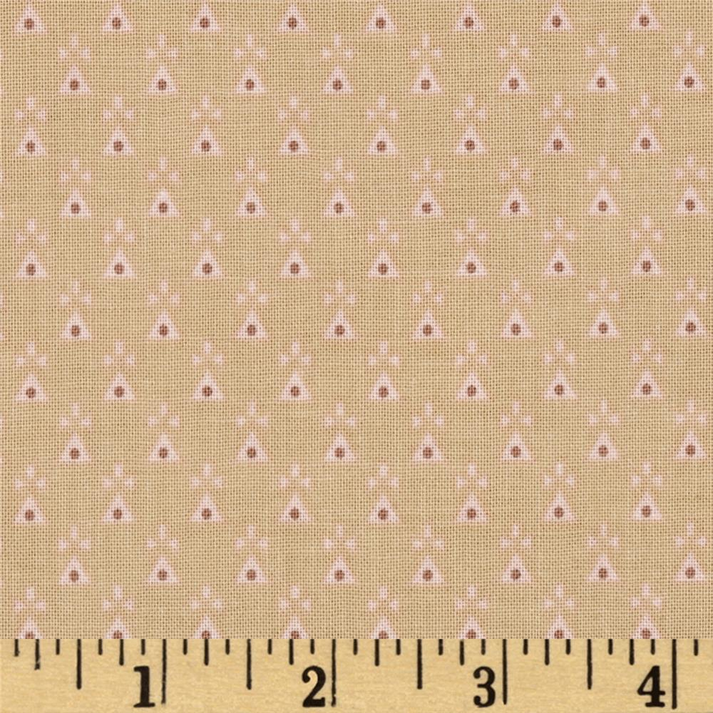 Penny Rose Romancing the Past Dots Beige