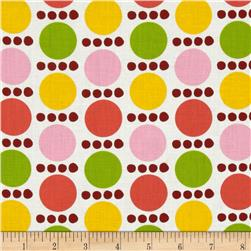 Contempo Palm Springs Spots and Dots Orange/Yellow/Pink