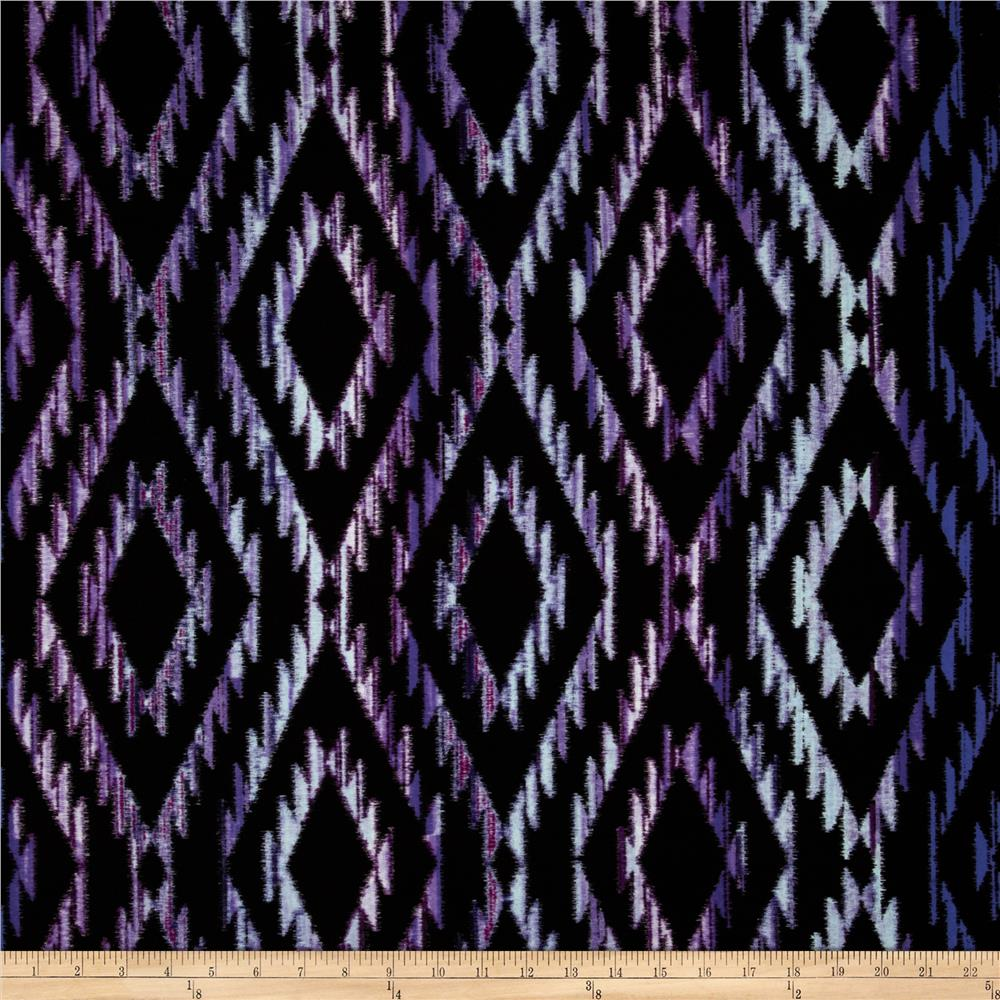Michael Miller Tribal Blanket Purple