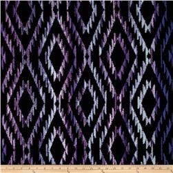 Michael Miller Tribal Blanket Purple Fabric