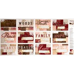 Words to Live by Book Panel Multi