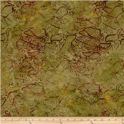 Timeless Treasures Tonga Batik Woodlands Olive