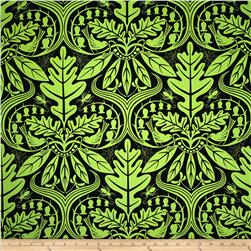 Enchanted Damask Green