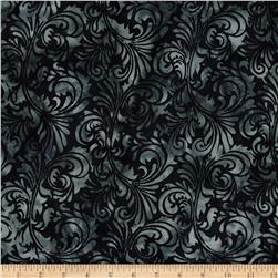 Bali Batiks Handpaints Foulard Midnight