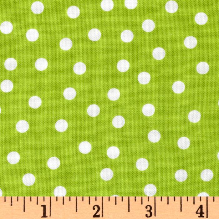Remix Polka Dots Lime