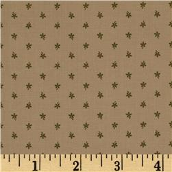 Moda Floral Gatherings Straw Flower Time Worn/Olive