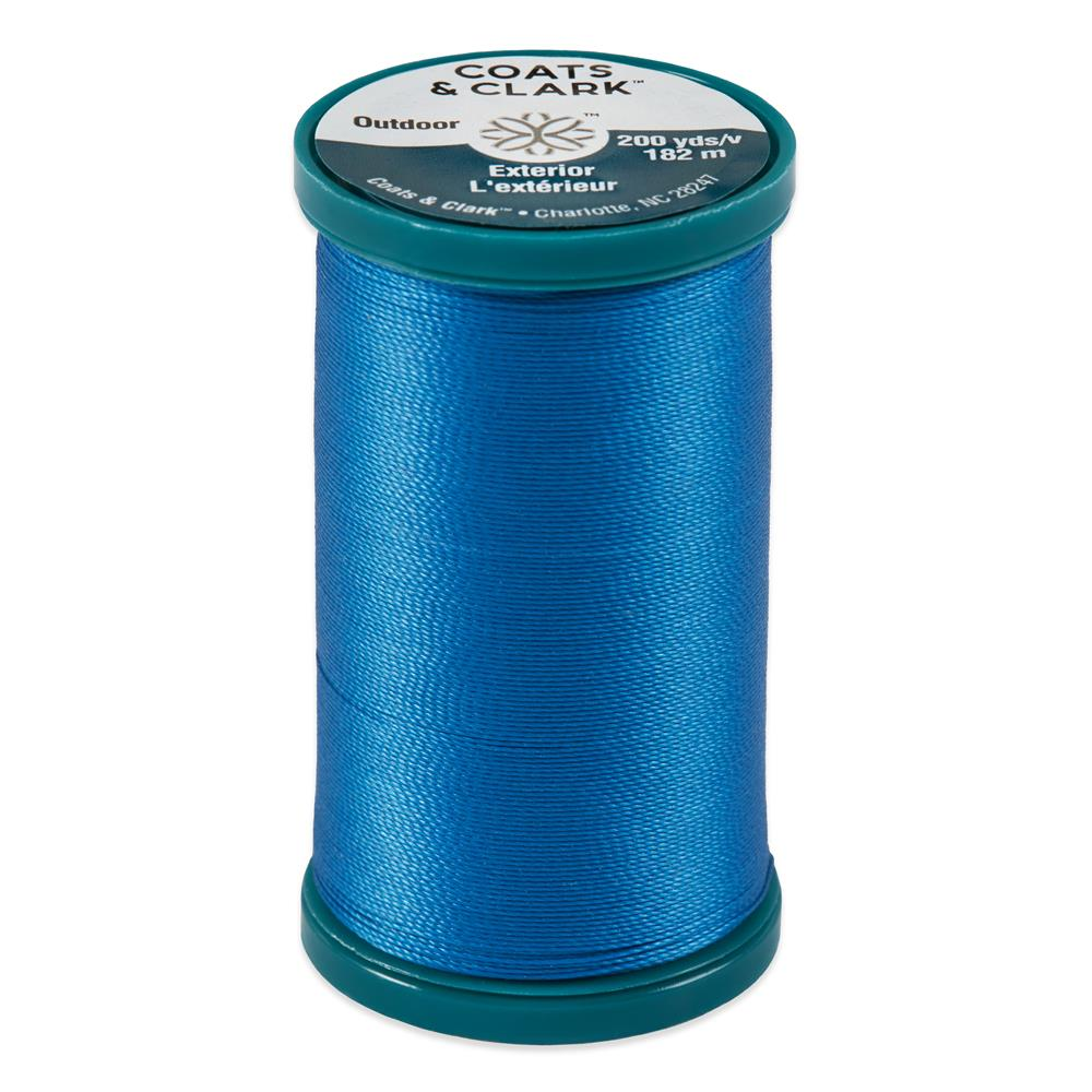 Coats & Clark Outdoor Thread 200 YD Monaco Blue