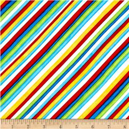 Jungle Camp Diagonal Stripe Multi