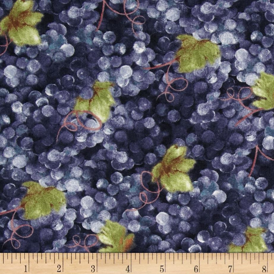 Vino Bellisimo Grapes Allover Purple