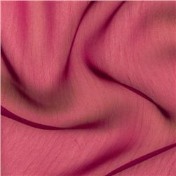 Two Tone Chiffon Dark Fuchsia Fabric