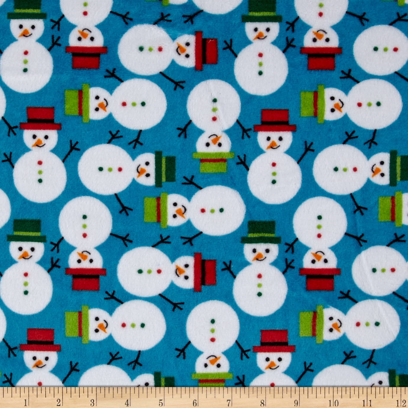Shannon Kaufman Minky Cuddle Frosty Dark Turquoise Fabric by Shannon in USA
