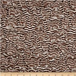 Minky Soft Cuddle Quill Silver/Taupe