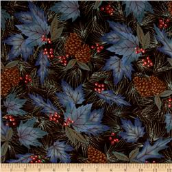 Moda Winter Forest Flannel Forest Pattern Sable