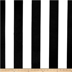 RCA Sheers Uno Vertical Stripe Black/White Fabric