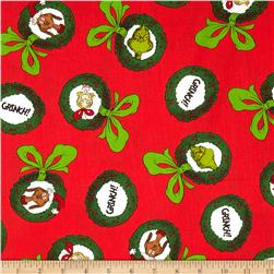 How The Grinch Stole Christmas Ornaments Holiday Red