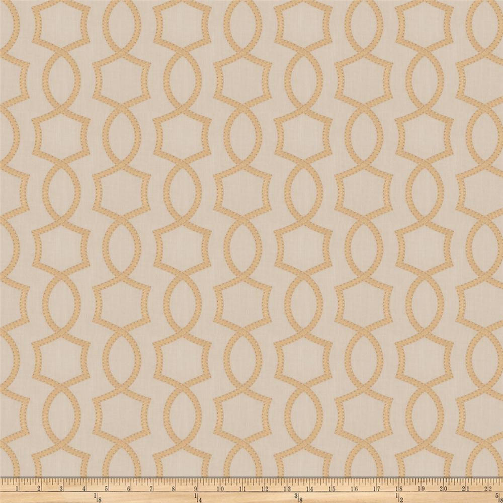 Fabricut Docile Lattice Straw