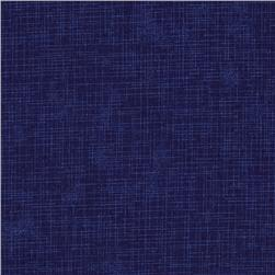 Quilter's Linen Print Midnight Fabric