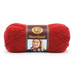 Lion Brand Heartland  Yarn Redwood
