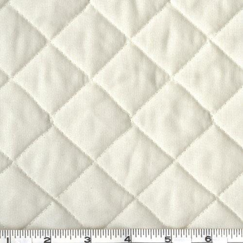 Double-Sided Quilted Broadcloth Cream
