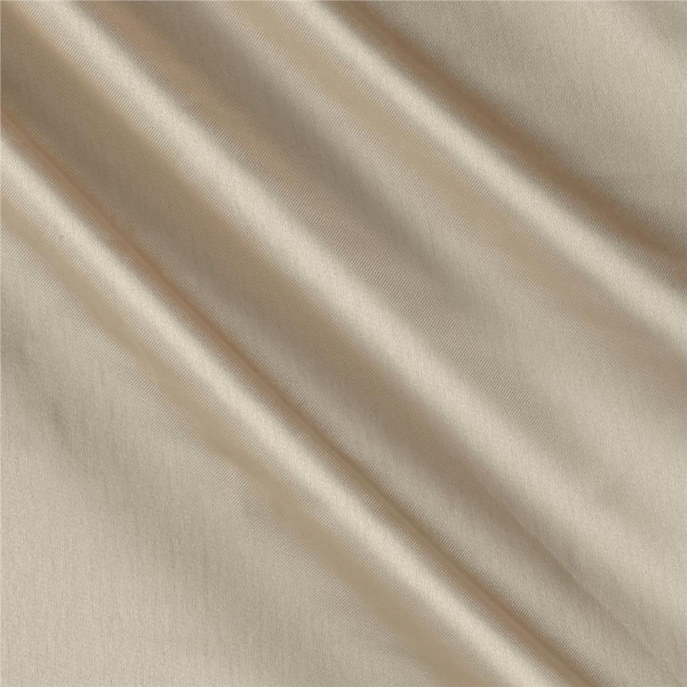 Charmeuse Satin Solid  Nude