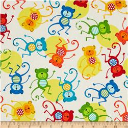 Jungle Creatures Monkeys Bright
