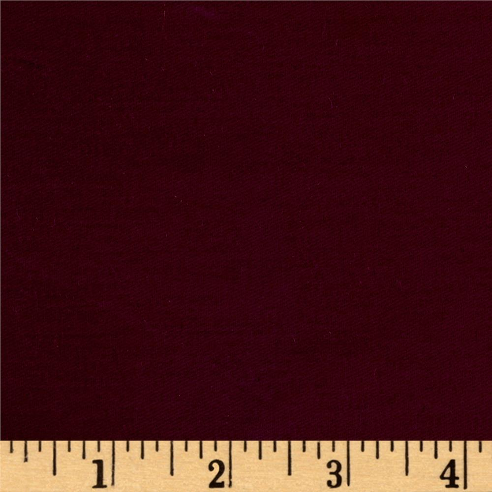 Sanded/Brushed Twill Light Burgundy