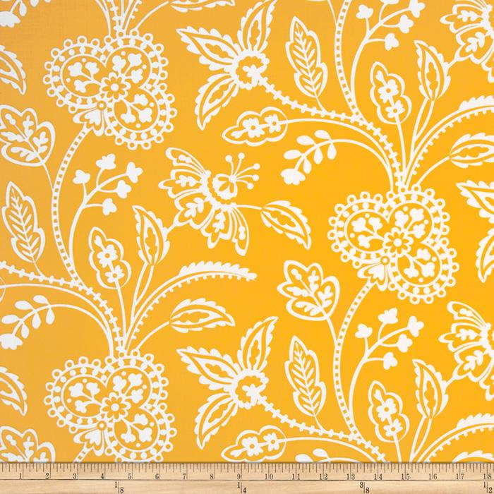 Michael Miller Garden Party Garden Floral Tonal Yellow