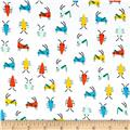 Cloud 9 Organics Sidewalk Interlock Knit Bug's Life White