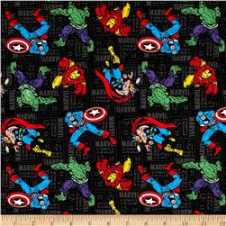 Marvel Retro Comics Character Toss Black