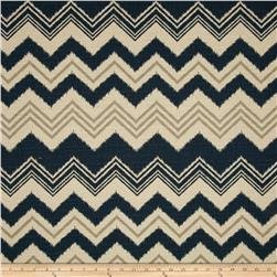 Premier Prints Zazzle Nina Navy/Birch Fabric