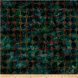 Kaufman Artisan Batiks Enchanted Trellis Meadow
