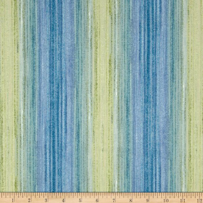 Fusions Ombre Collection Stripe Lagoon Blue