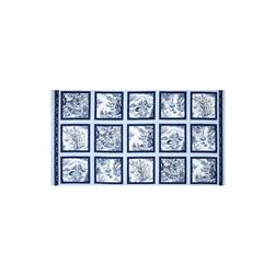 Woodland Forest 24 In. Panel Blocks White/Blue