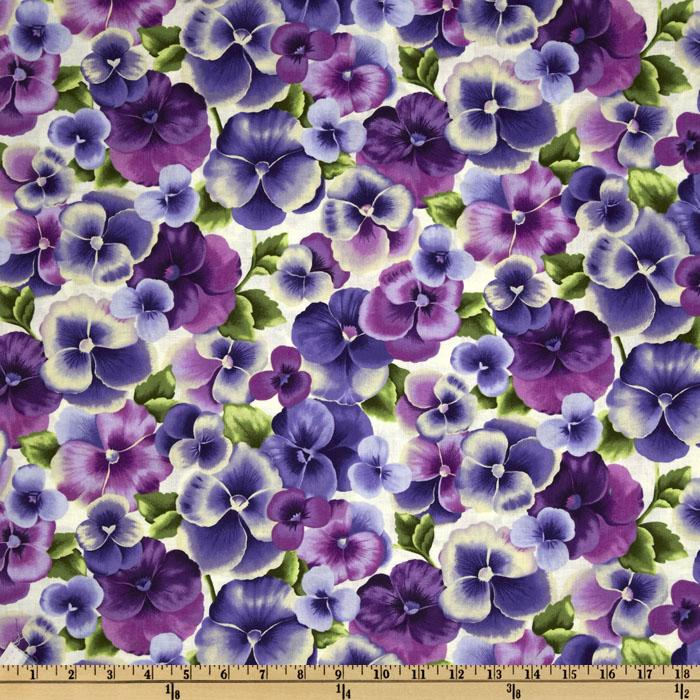 Perfect Pansy Large Pansies Violet