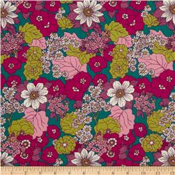 Joel Dewberry Bungalow Dainty Daisies Lavender Fabric