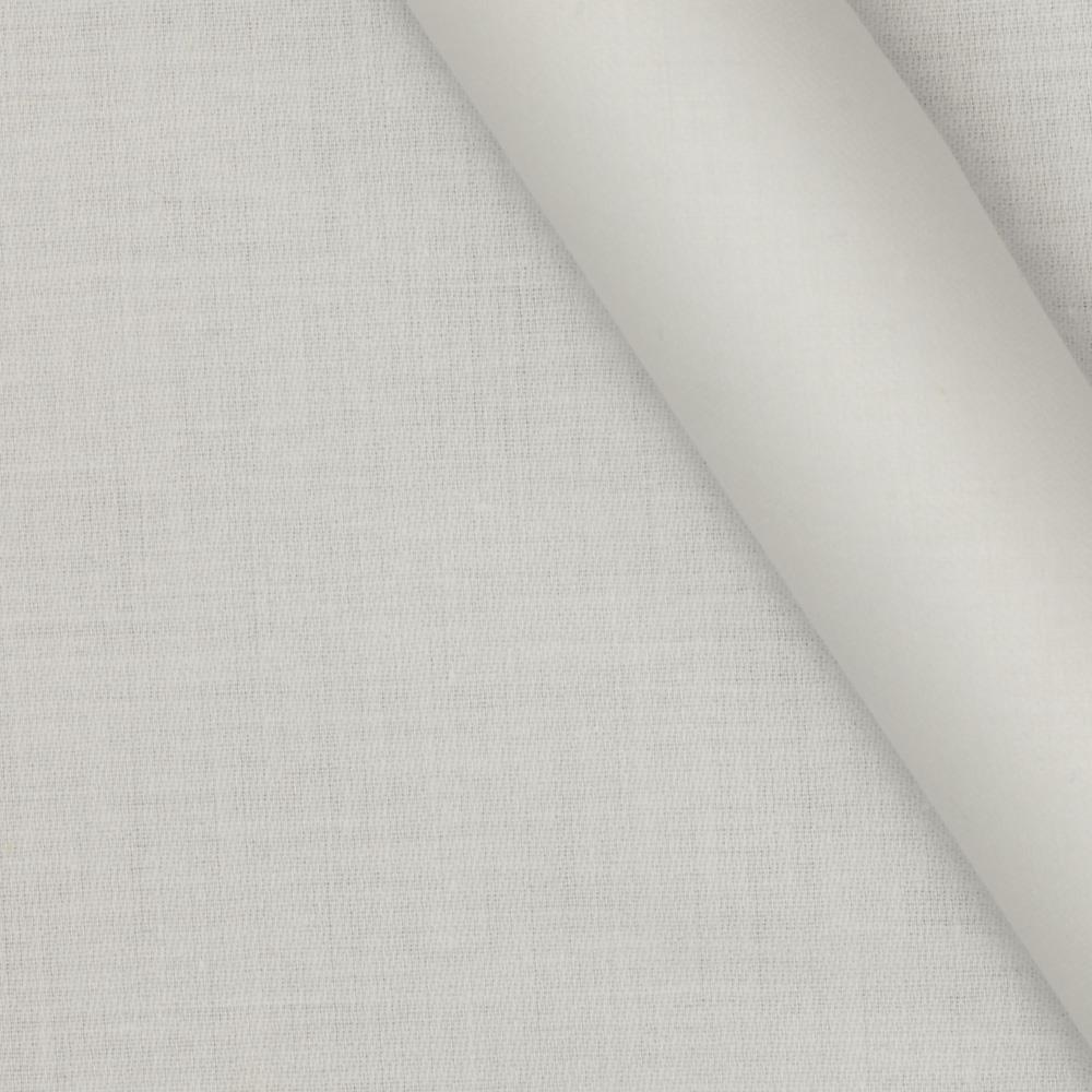 Cotton Blend Twill White