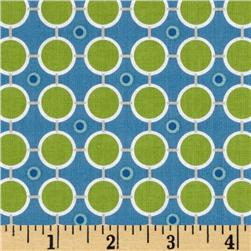 Millie's Closet Circle Dot Green