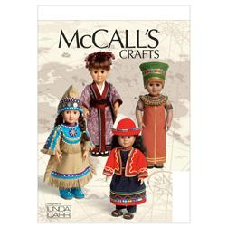 McCall's Clothes For 18' Doll and Accessories Pattern M6670 Size OSZ