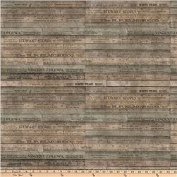 Tim Holtz Eclectic Elements Rulers Brown