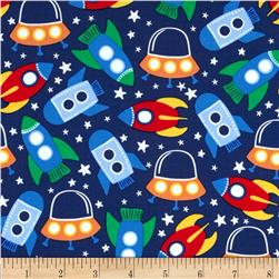 Michael Miller Retro Space Station Primary Fabric