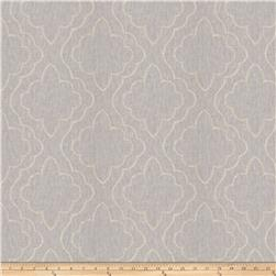 Fabricut Yasa Lattice Linen Blend Grey