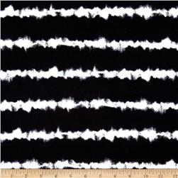 Coachella Jersey Knit Tie-Dye Black/White