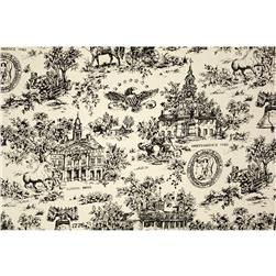 Creations Mt. Vernon Toile Black