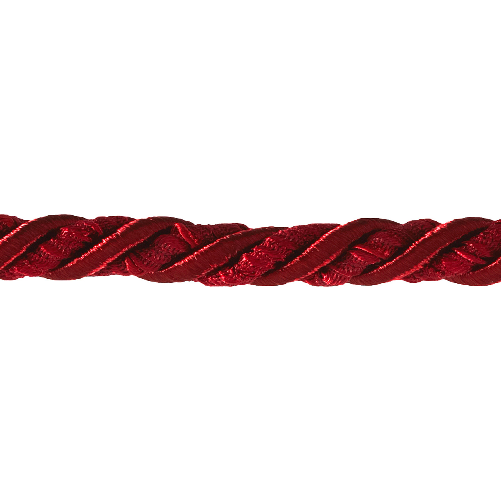 Lesley 5/16'' Decorative Cord Trim Berry