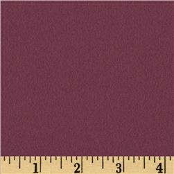 Quilt Block Solid Flannel Wine