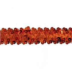 Team Spirit #66 Sequin Trim Orange