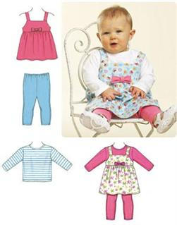 Kwik Sew Baby Jumper Top & Leggings Pattern