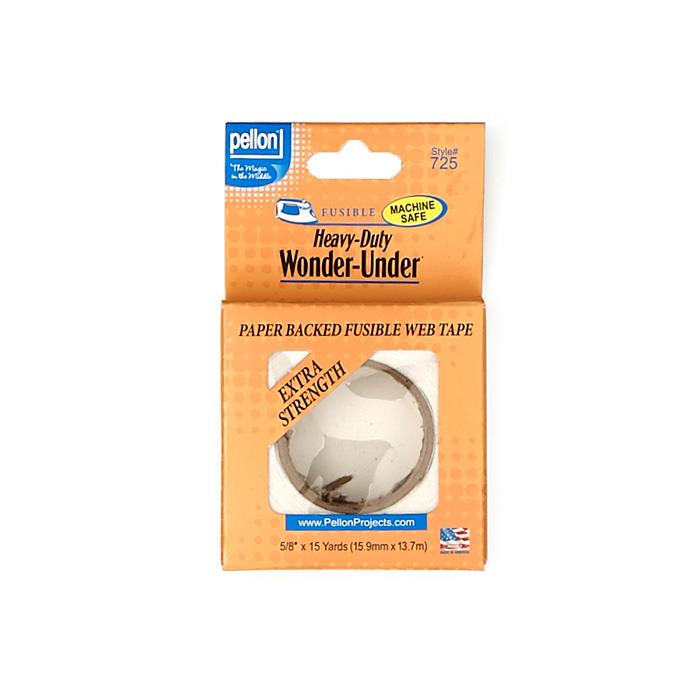 Pellon Heavy-Duty Wonder-Under - Paper-backed fusible web w/