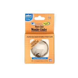 Pellon ST-725 Heavy-Duty Wonder-Under - 5/8'' Fusible Web Tape (Paper Backed)