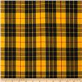 House of Wales Plaid Yellow
